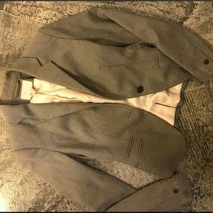 Lighter Gray Fitted H&M Blazer
